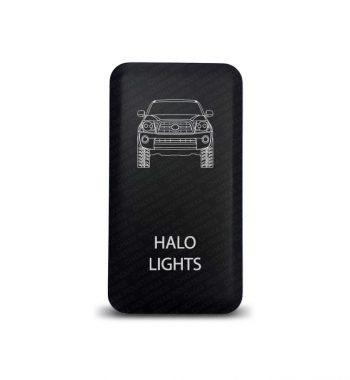 CH4x4 Toyota Push Switch Tacoma Halo Lights Symbol 2