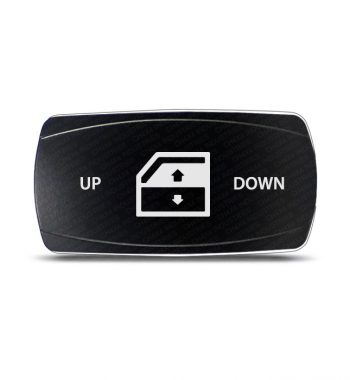 CH4x4 Rocker Switch Window Symbol 2 - Horizontal