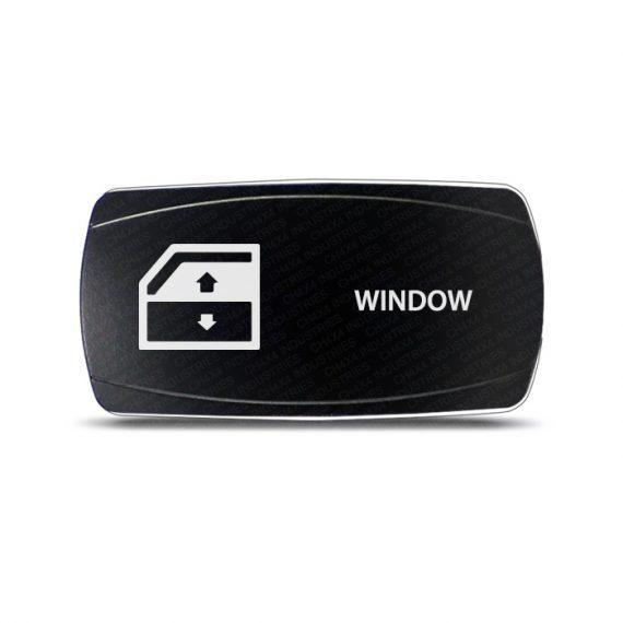 CH4x4 Momentary Rocker Switch Window Symbol - Horizontal