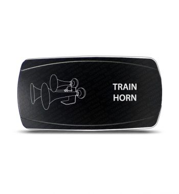 CH4x4 MOMENTARY Rocker Switch Train Horn Symbol - Horizontal