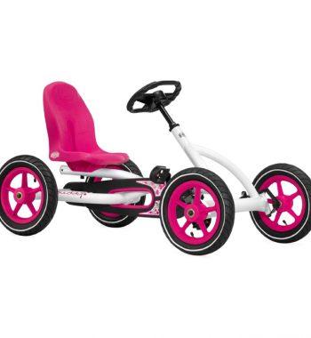 Buddy White Pedal Go Kart