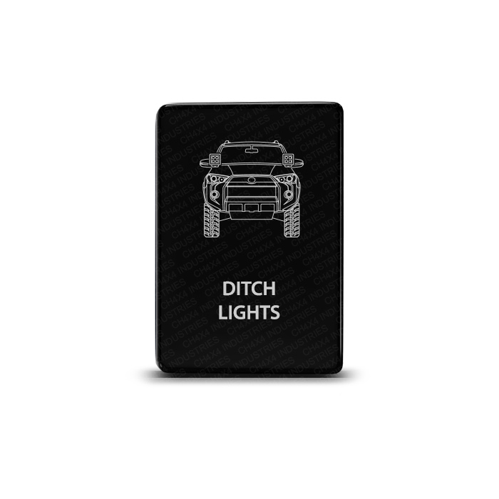 CH4x4 Toyota Small Push Switch 4Runner Ditch Lights Symbol