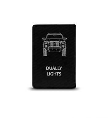 CH4x4 Toyota Small Push Switch 4Runner Dually Lights Symbol