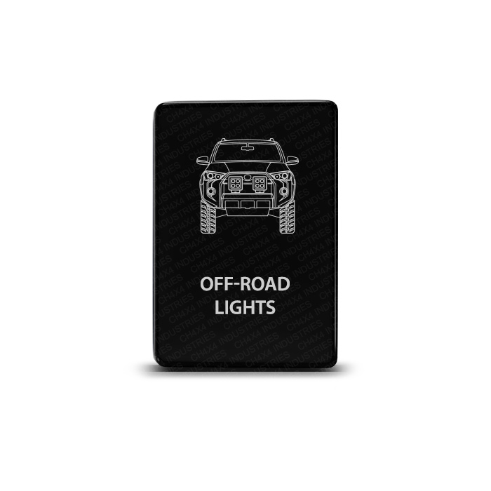 CH4x4 Toyota Small Push Switch 4Runner Off Road Lights Symbol