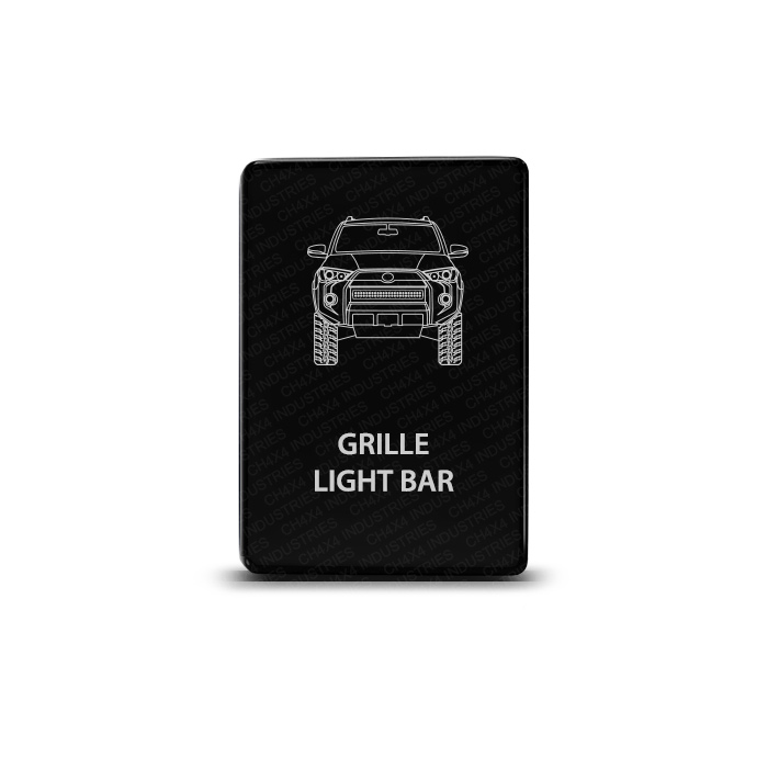 CH4x4 Toyota Small Push Switch 4Runner Grille Light Bar Symbol
