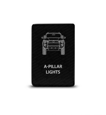 CH4x4 Toyota Small Push Switch 4Runner A-Pillar Lights Symbol