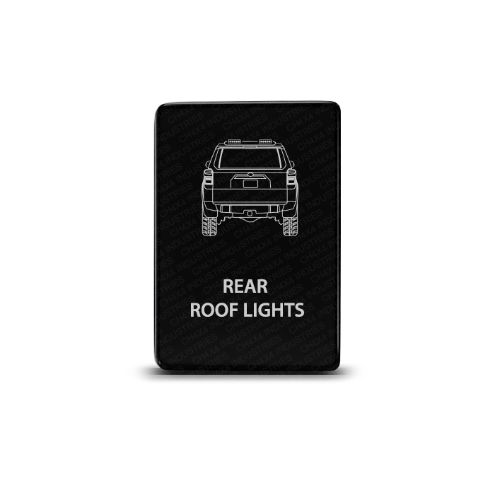 CH4x4 Toyota Small Push Switch 4Runner Rear Roof Lights Symbol