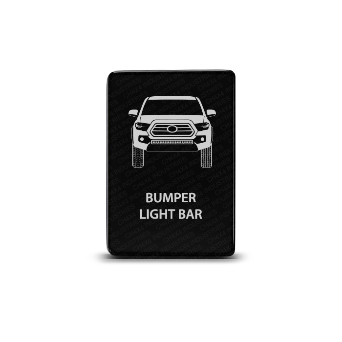 CH4x4 Toyota Small Push Switch Tacoma 3rd Gen Bumper Light Bar Symbol