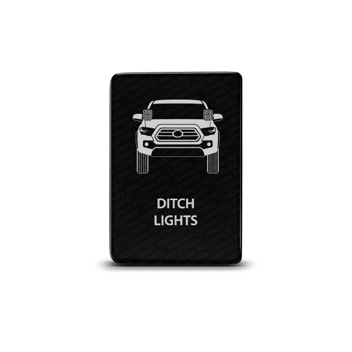CH4x4 Toyota Small Push Switch Tacoma 3rd Gen Ditch Lights Symbol