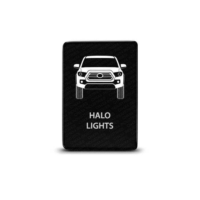 CH4x4 Toyota Small Push Switch Tacoma 3rd Gen Halo Lights Symbol