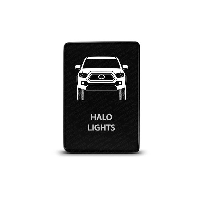 CH4x4 Toyota Small Push Switch Tacoma 3rd Gen Halo Lights Symbol