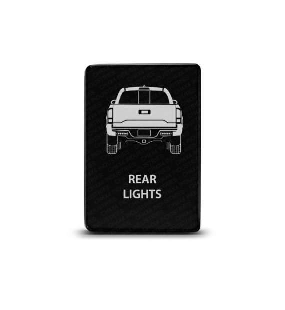 CH4x4 Toyota Small Push Switch Tacoma 3rd Gen Rear Lights Symbol
