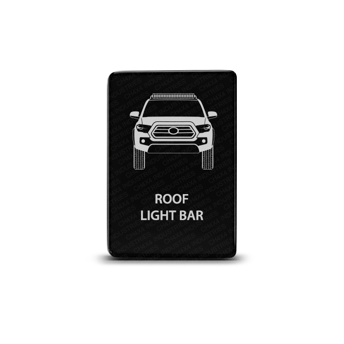 CH4x4 Toyota Small Push Switch Tacoma 3rd Gen Roof Light Bar Symbol