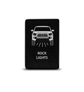 CH4x4 Toyota Small Push Switch Tacoma 3rd Gen Rock Lights Symbol