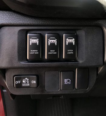 CH4X4 Push Switch Panel for Toyota Tacoma 2016-2020