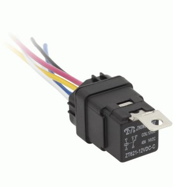 CH4X4 Marine Grade Waterproof 12V 40A Relay with 5 Pin Harness
