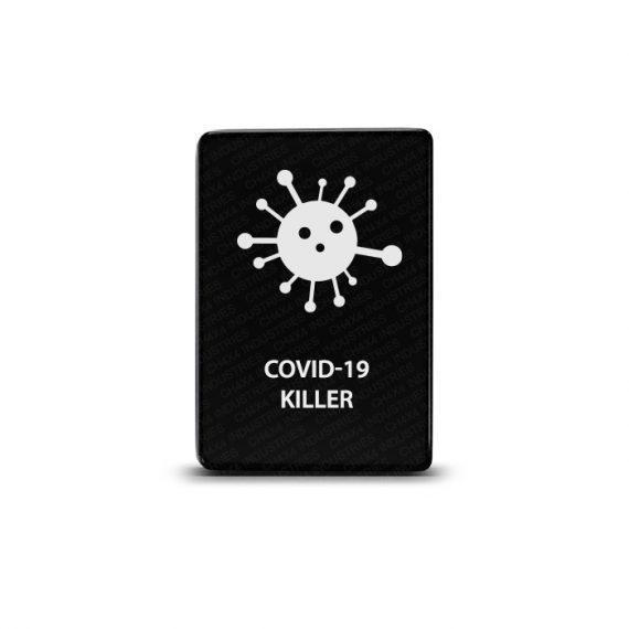 CH4x4 Toyota Small Push Switch COVID-19 Killer Symbol