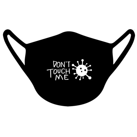 CH4X4 Don't Touch Me Washable Preventive Mask