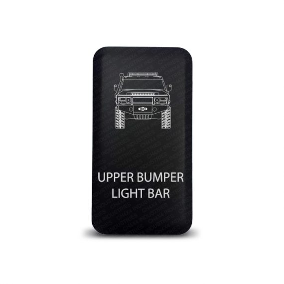 CH4x4 Push Switch for Toyota FJ Cruiser - Upper Bumper Light Bar Symbol