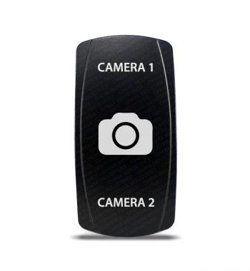 CH4x4 Rocker Switch DPDT ON-OFF-ON Camera 1-2 Symbol