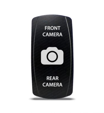 CH4x4 Rocker Switch DPDT ON-OFF-ON Front - Rear Camera Symbol