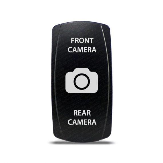 CH4x4 Rocker Switch DPDT ON-OFF-ON Front - Rear Camera Symbol