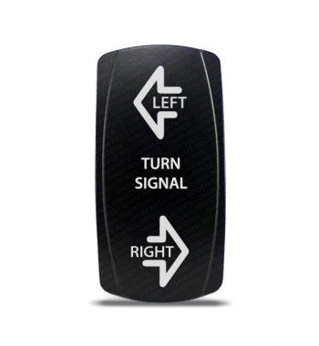 CH4x4 Rocker Switch DPDT ON-OFF-ON Turn Signal Symbol